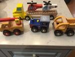 F363: Wooden Dumper Truck