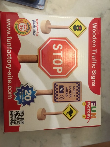 C376: Wooden Traffic Signs