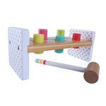 F369: Wooden Hammer Peg Bench