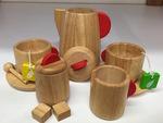 C322: Plan Toys Wooden Tea Set