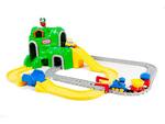 C148: Little tikes peak road & rail set