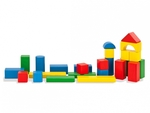 B201: Coloured Wooden Blocks