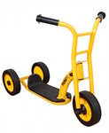G12: Yellow 3 Wheel Scooter