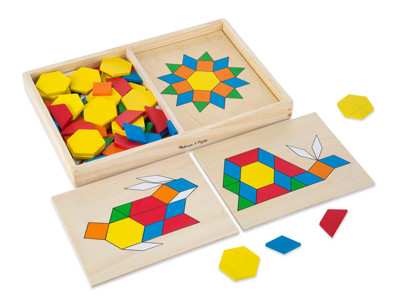 A45: Pattern Blocks and Boards