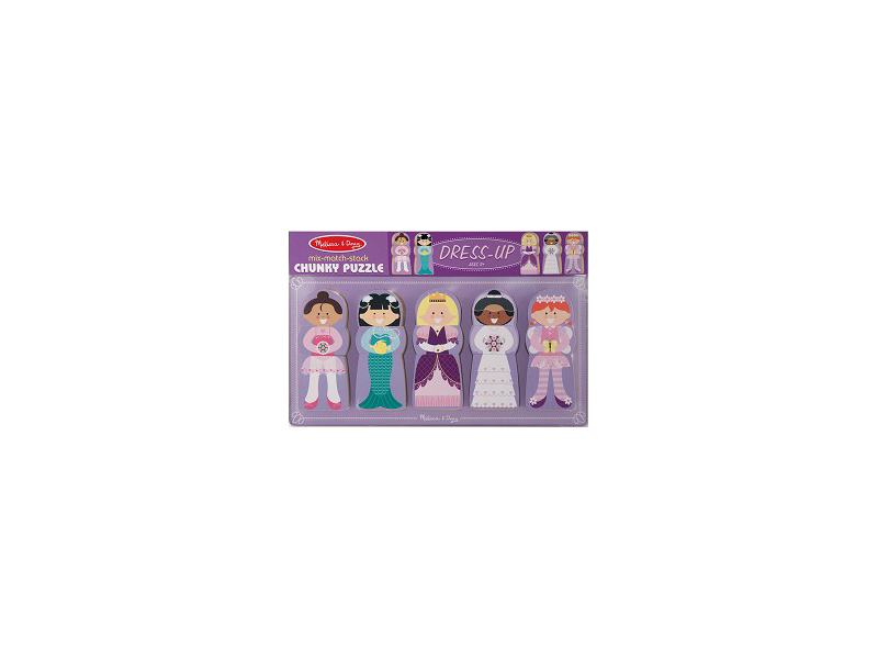 A36: Princess Dress Up Puzzle