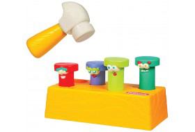 F343: Playskool Hammer & Hit