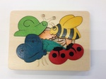 PUZ015: Snail and Friends Layer Puzzle