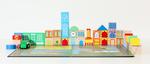 CON003: City Map Board + 48 Blocks