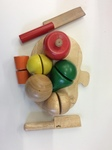 RPL005: Wooden Fruit and Vegetable Chopping Board