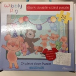 PUZ036: Wibbly Pig Giant Double-sided Puzzle