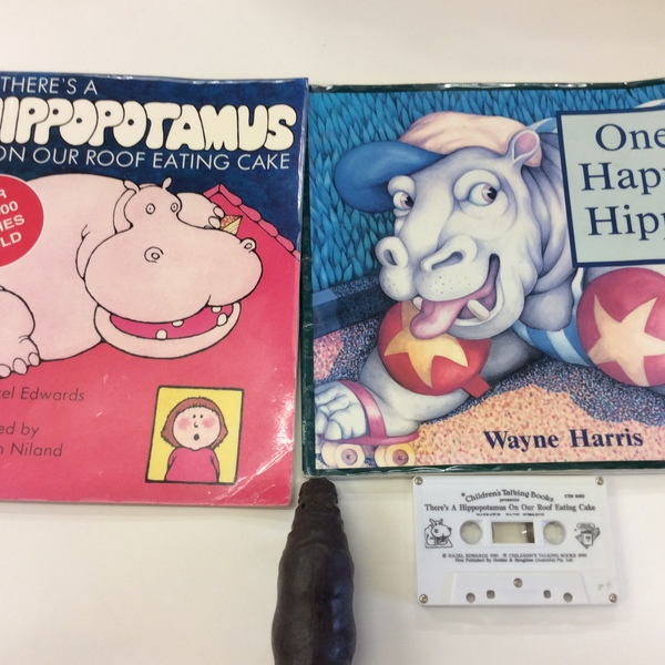 LITR005: There's a Hippopotamus on our Roof Eating Cake