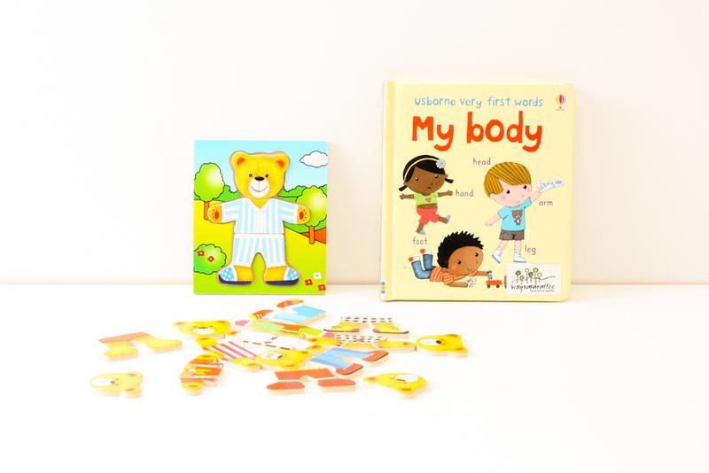 LITR012: Usbourne Very First Words: My Body