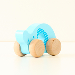 TOY006: Wooden Elephant Roller Toy
