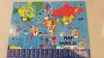 J41: World Map Floor Puzzle
