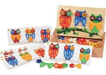 E603: Mix & Match Owls
