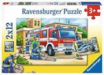 P26: Ravensburger Police and Firefighters Jigsaw Puzzle