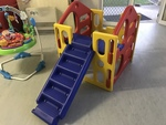 031: Climbing frame and slide/stairs