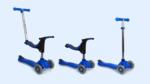 A5: EVO 4 in 1 scooter Blue