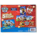 452: Paw Patrol Puzzles Wooden Box