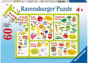 438: Five Food Groups Jigsaw Puzzle