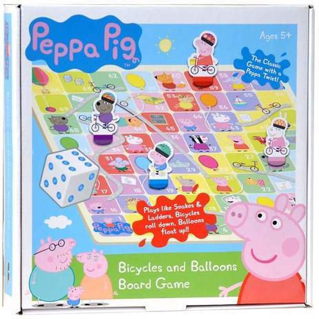 453: Peppa Pig Bicycles and Balloons Game