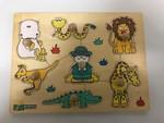 557: Safari Peg Puzzle