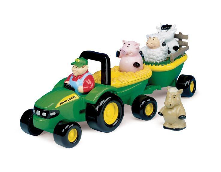 566: John Deere Hay Ride Tractor