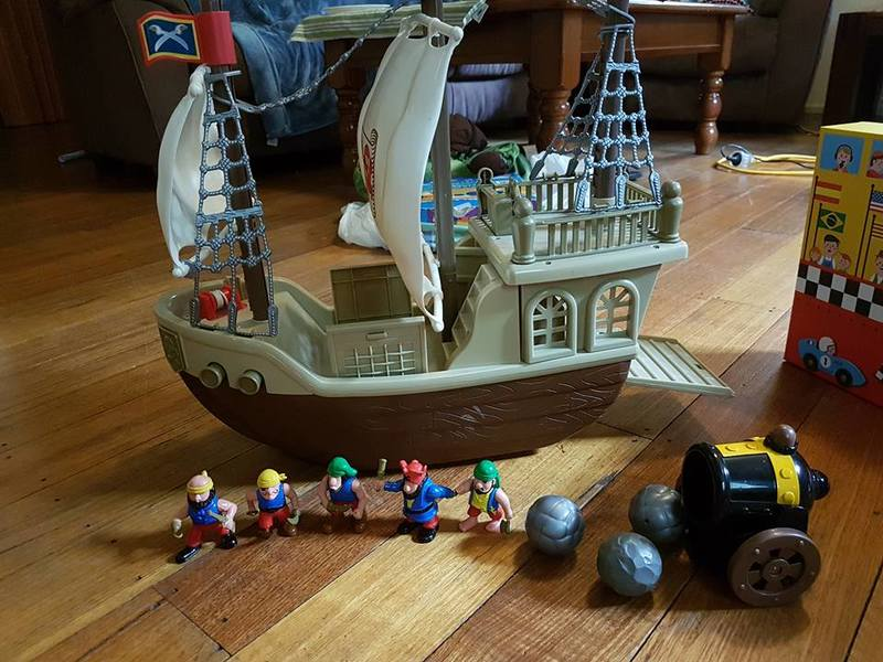 39: Pirate Ship on Wheels