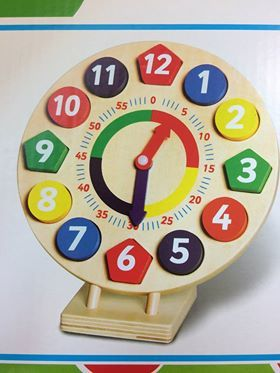 70: Wooden Learning Clock