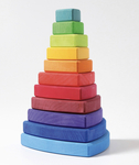 2008: Grimms Rainbow Triangle Stacking Tower